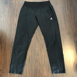 Adidas pants track joggers ankle zip length medium